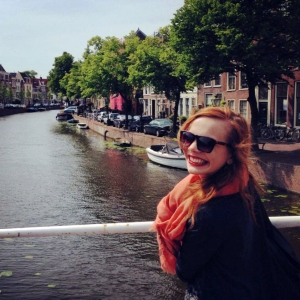 Lianne in Leiden