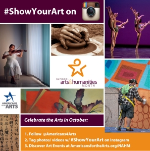 National Arts and Humanities Month (NAHM ) Promotion